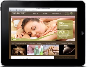 Website redesign for Thai Therapy, London