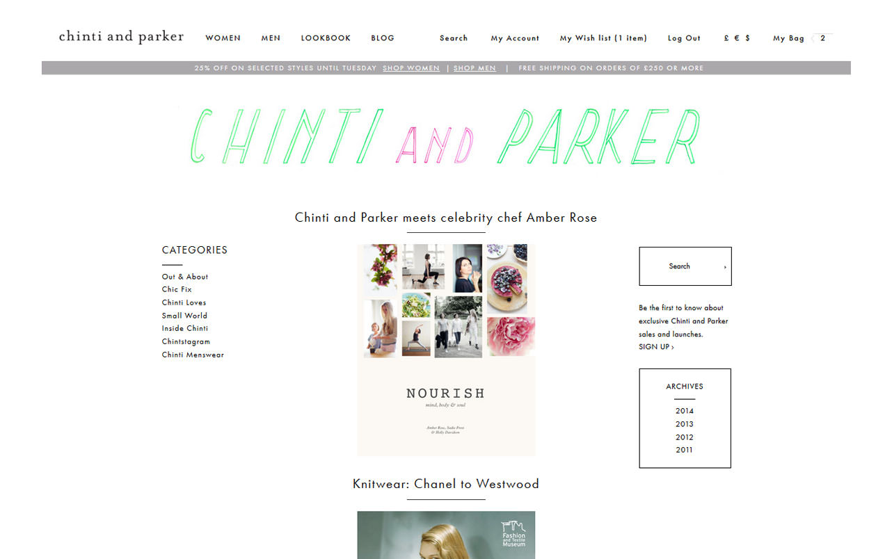 Magento hosting for chinti and parker