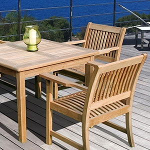 Bridgman teak garden furniture